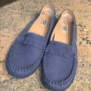Blue Suede shoes by UGG!